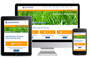See WebHornet's Web Design Work for Omaha Landscapers - LawnPowr