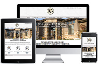Omaha Web Design for Builders - R&A Builders
